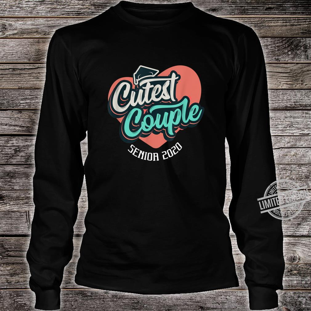 Senior 2020 Cutest Couple Yearbook Superlatives Shirt long sleeved