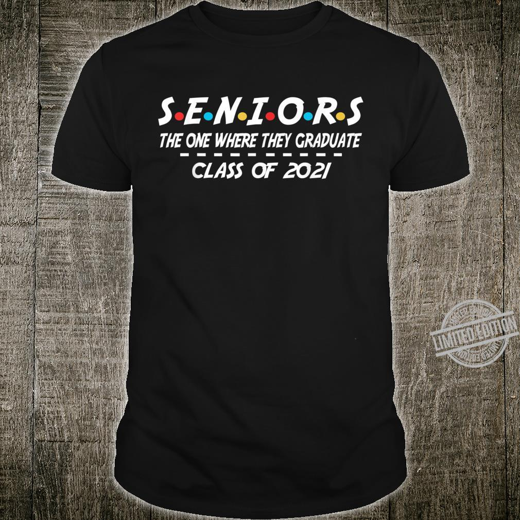 Senior Class of 2021 Graduate Shirt
