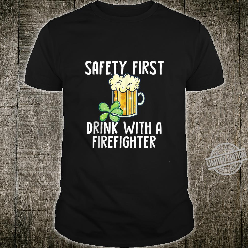 St. Patricks Day Firefighter Quote Shirt