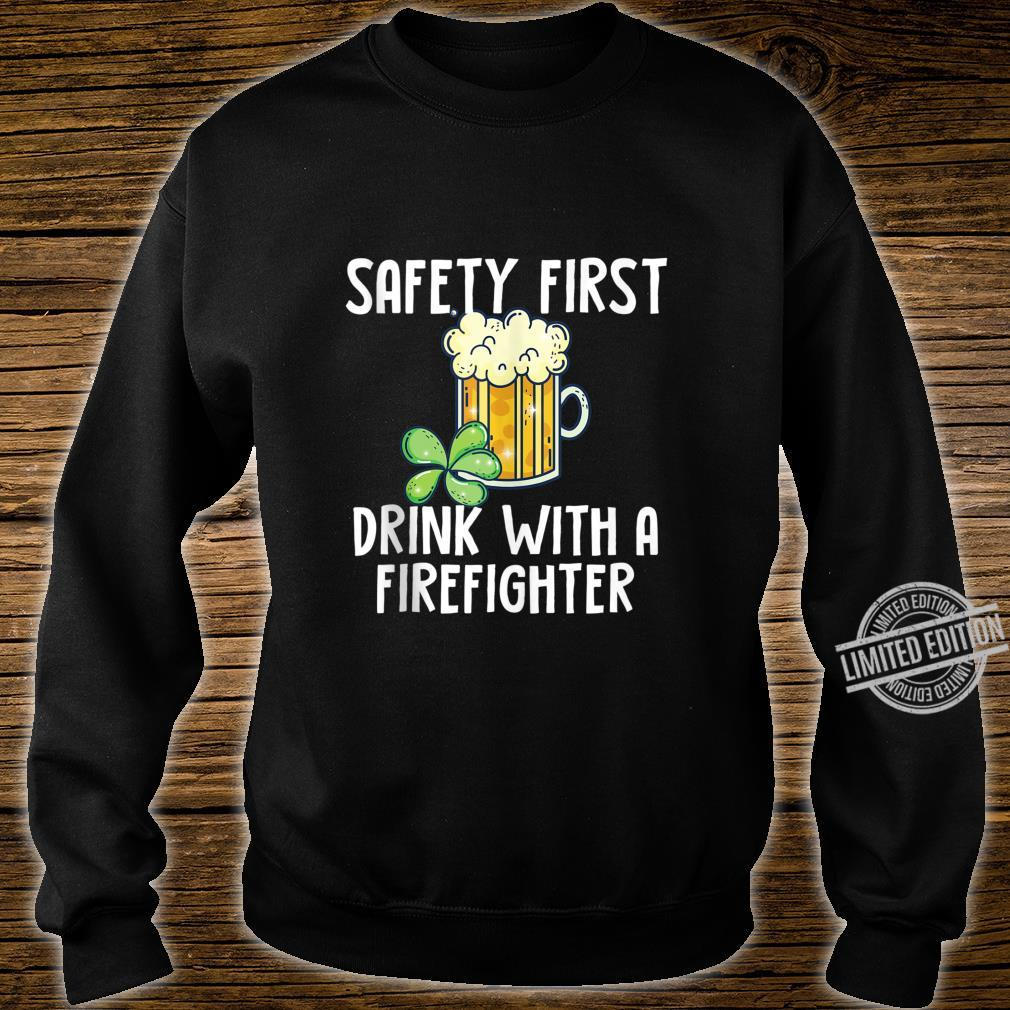 St. Patricks Day Firefighter Quote Shirt sweater