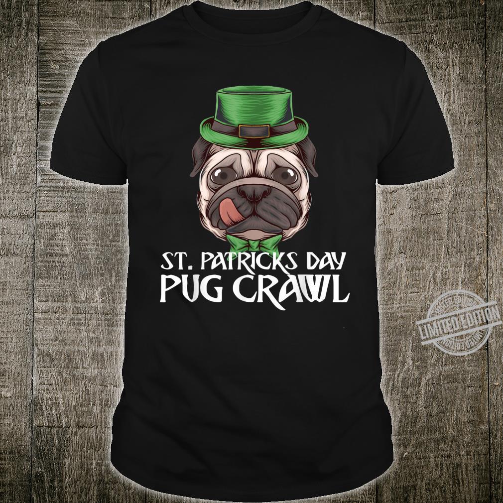 St. Patricks Day Pug Dog Shirt
