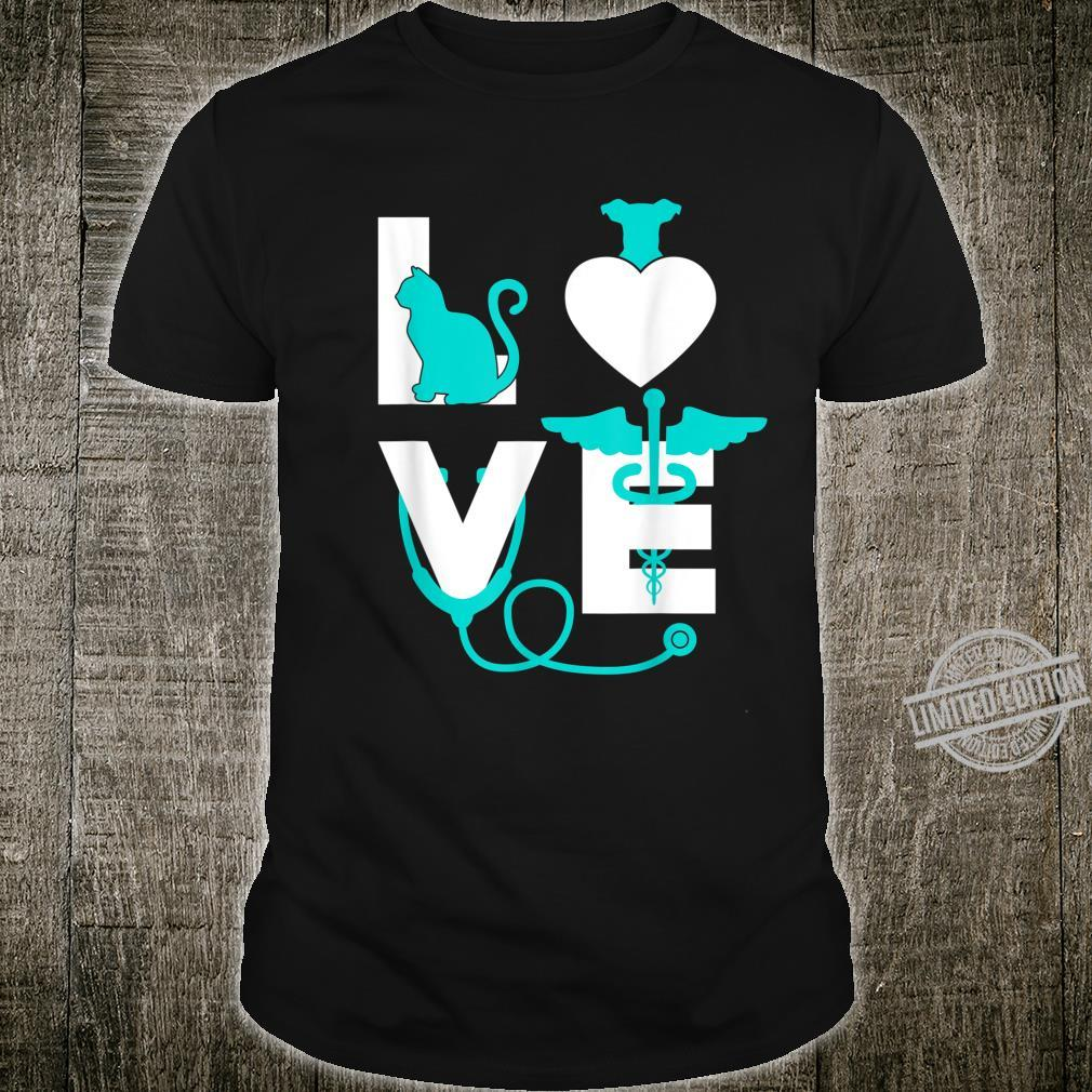 Veterinarian Love Veterinary Graduate Shirt