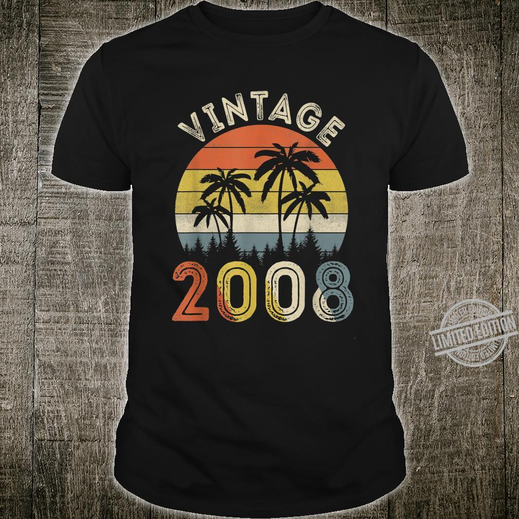 Vintage 2008 Shirt 12 Years Old 12th Birthday Shirt