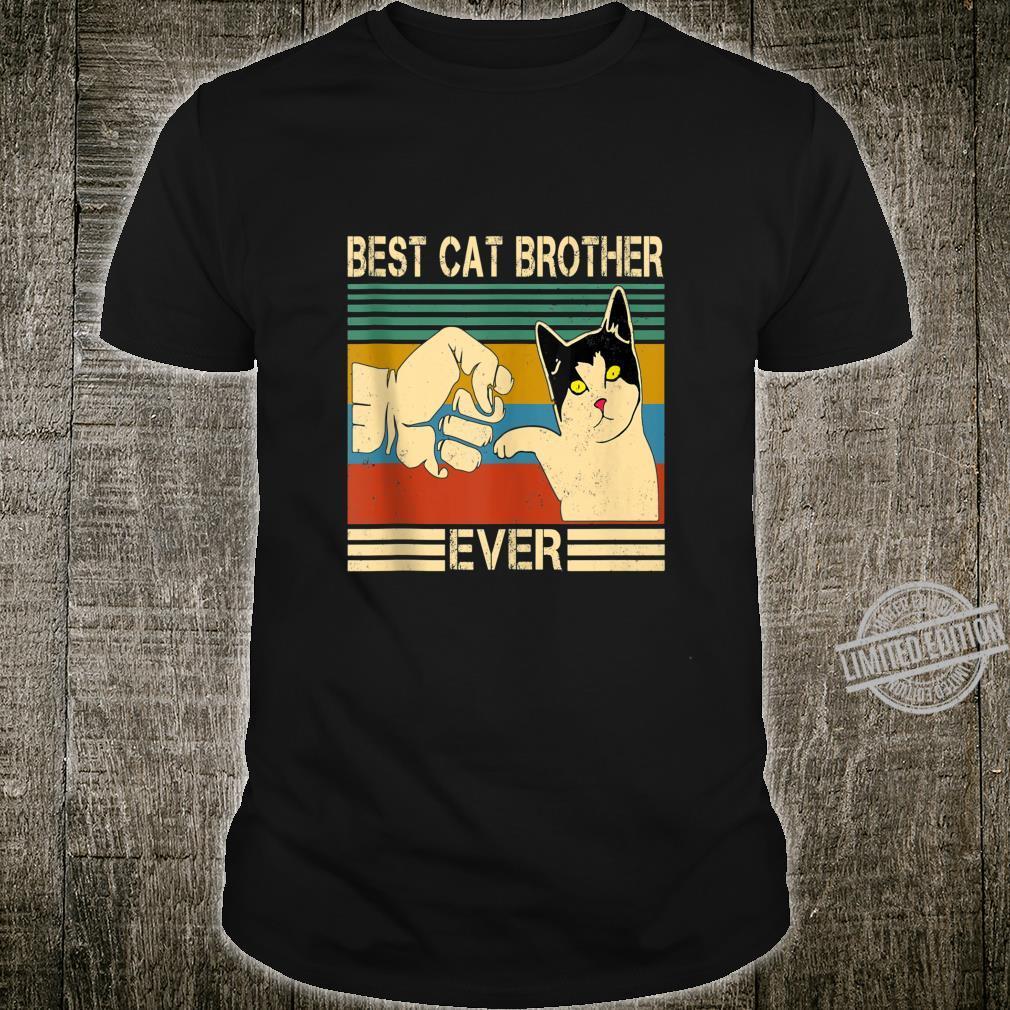 Vintage Best Cat Mother Ever Cat Mother Mom Shirt