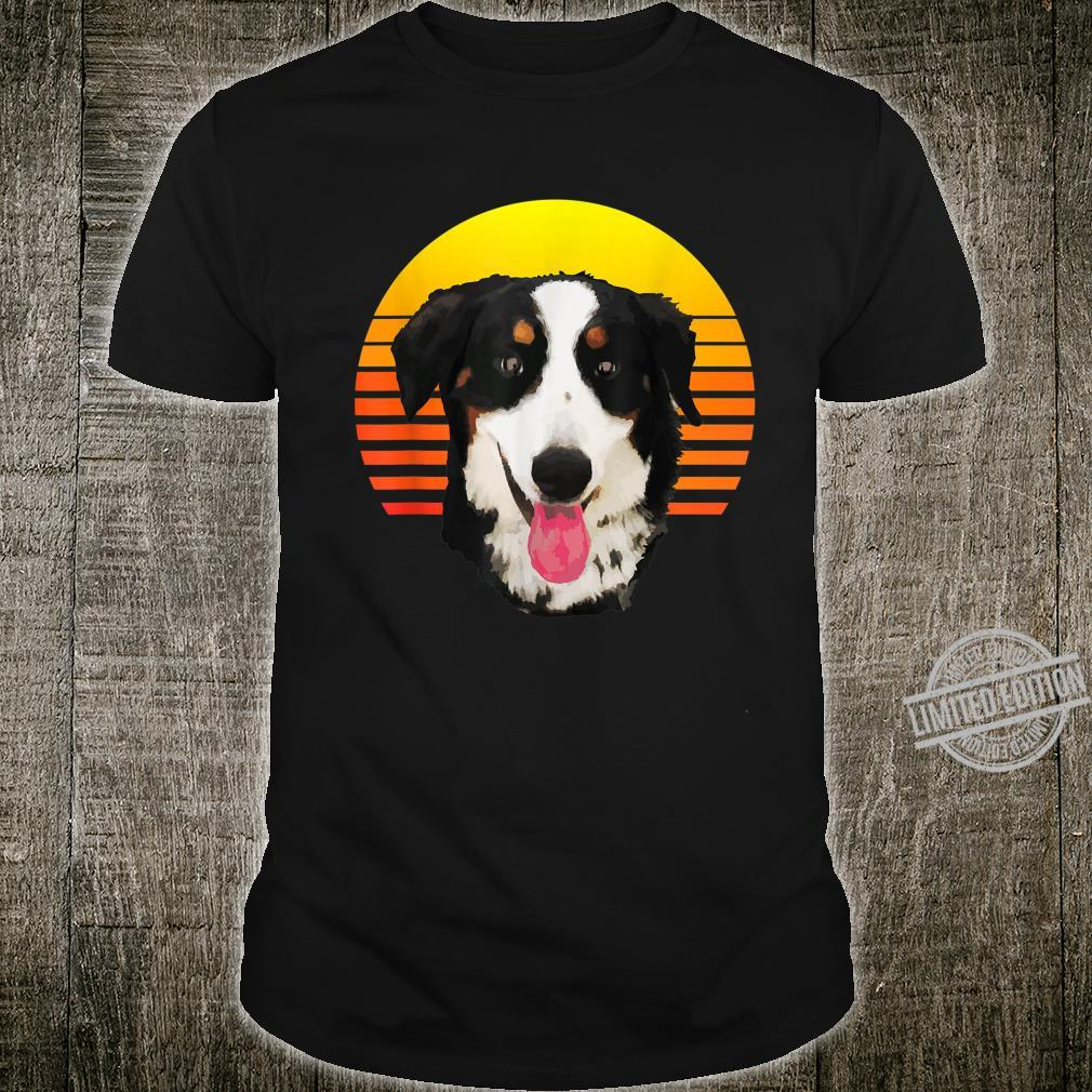 Vintage Retro Style Bernese Mountain Dog Shirt