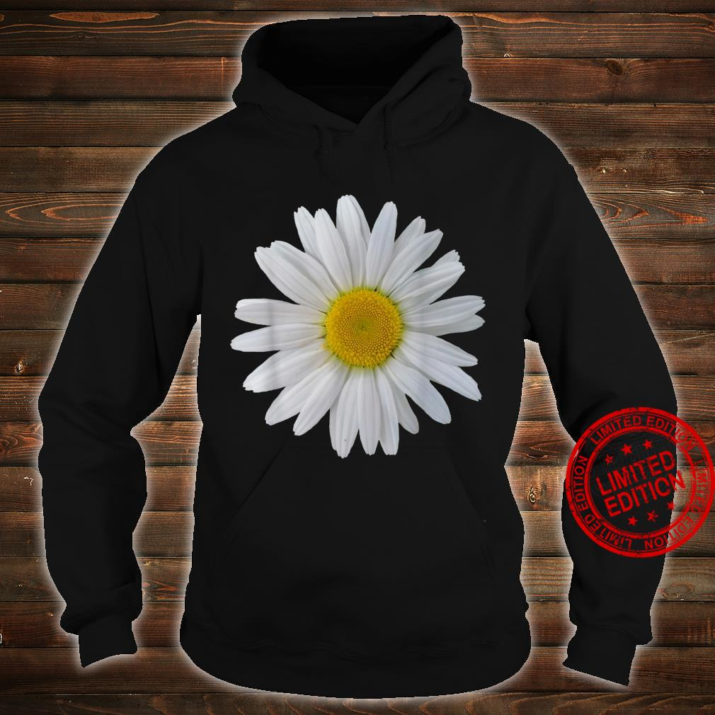 White daisy flower, blooming daisy, blooms, flowers, daisies Shirt hoodie