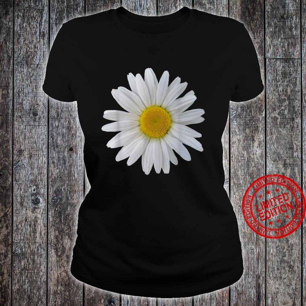White daisy flower, blooming daisy, blooms, flowers, daisies Shirt ladies tee
