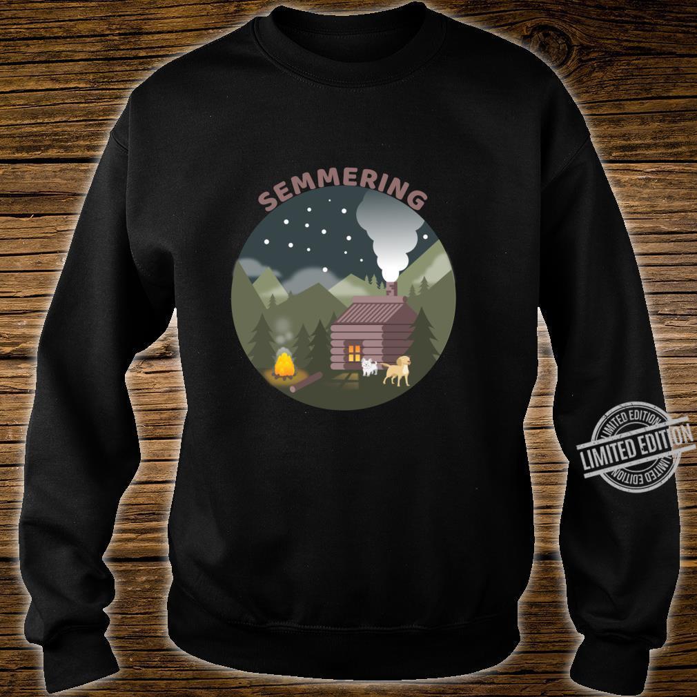 Zum Semmering mit den Hunden Langarmshirt Shirt sweater
